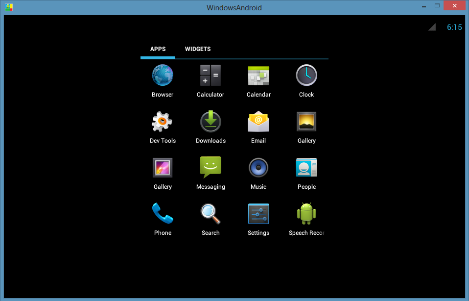 android emulator software free  for pc