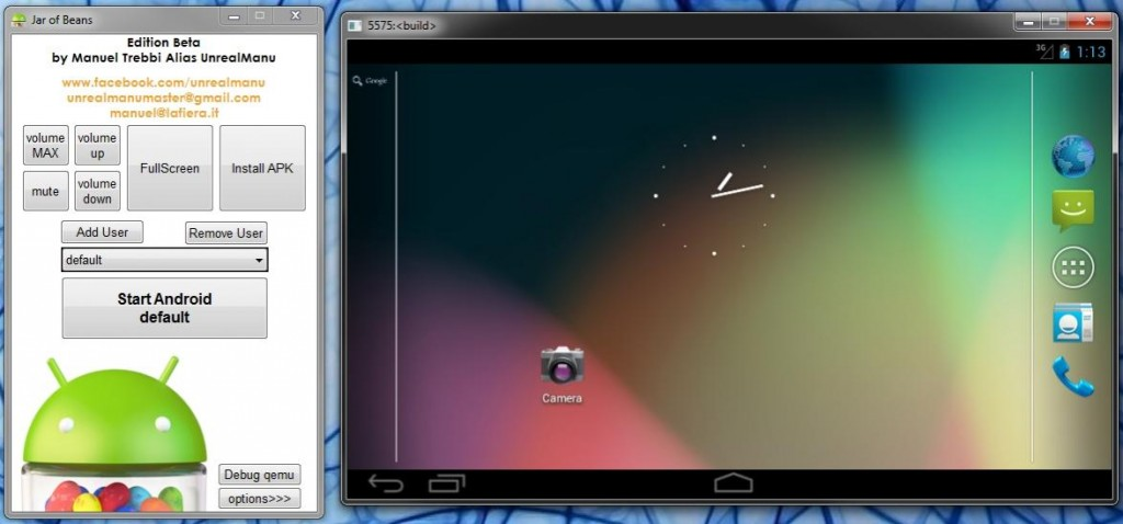 android emulator for pc windows 7 32 bit
