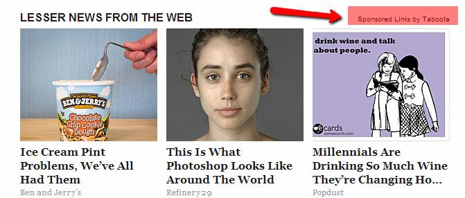 A sample content ad that aims to engage, not sell to, the reader.