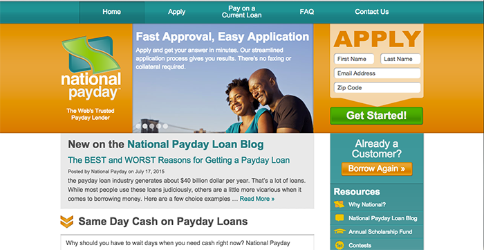 National Payday Reviews: Does NationalPayday.com Offer Online Loans Instant Approval with Legit ...