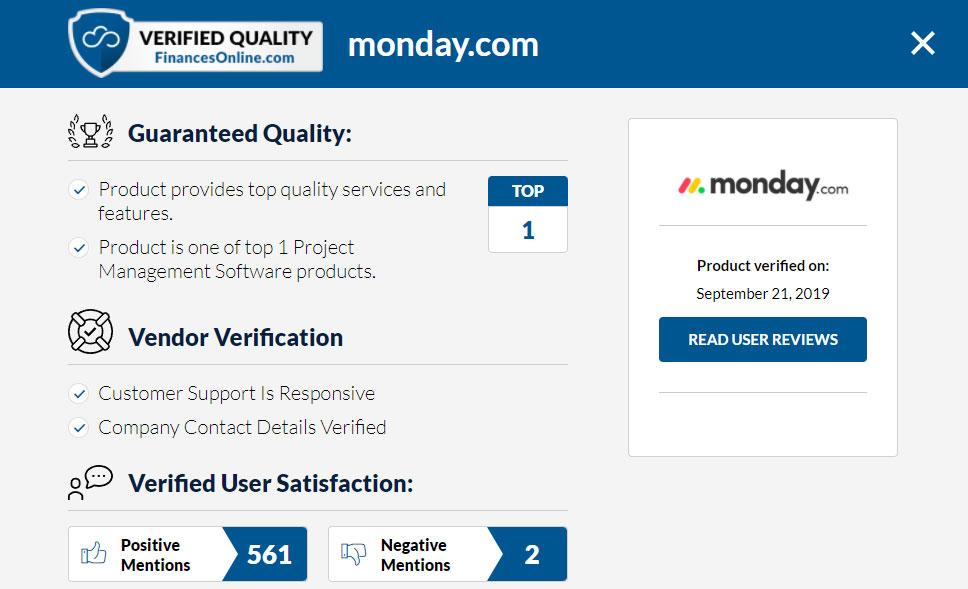 FO Verified Quality Seal