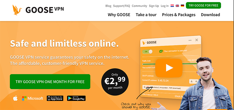 Goose VPN Reviews: Pros, Cons, & Pricing of the Popular VPN Service