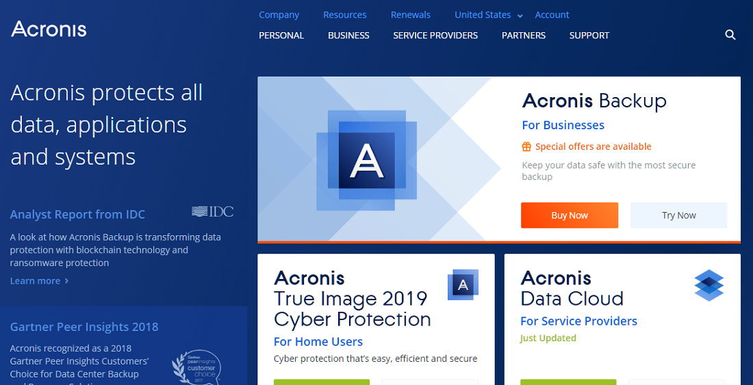 Acronis Backup and Recovery Review: Pricing, Pros, Cons