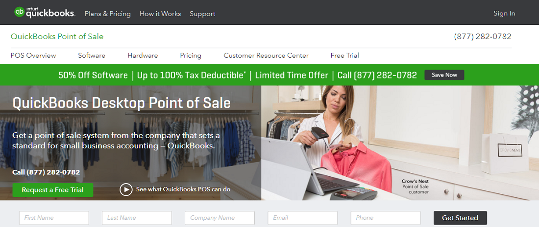 QuickBooks POS Review: Pricing, Pros, Cons & Features