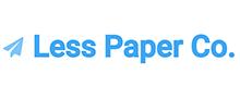 Less Paper Co. reviews