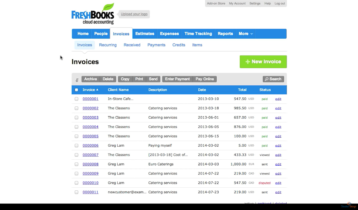 FreshBooks_invoices