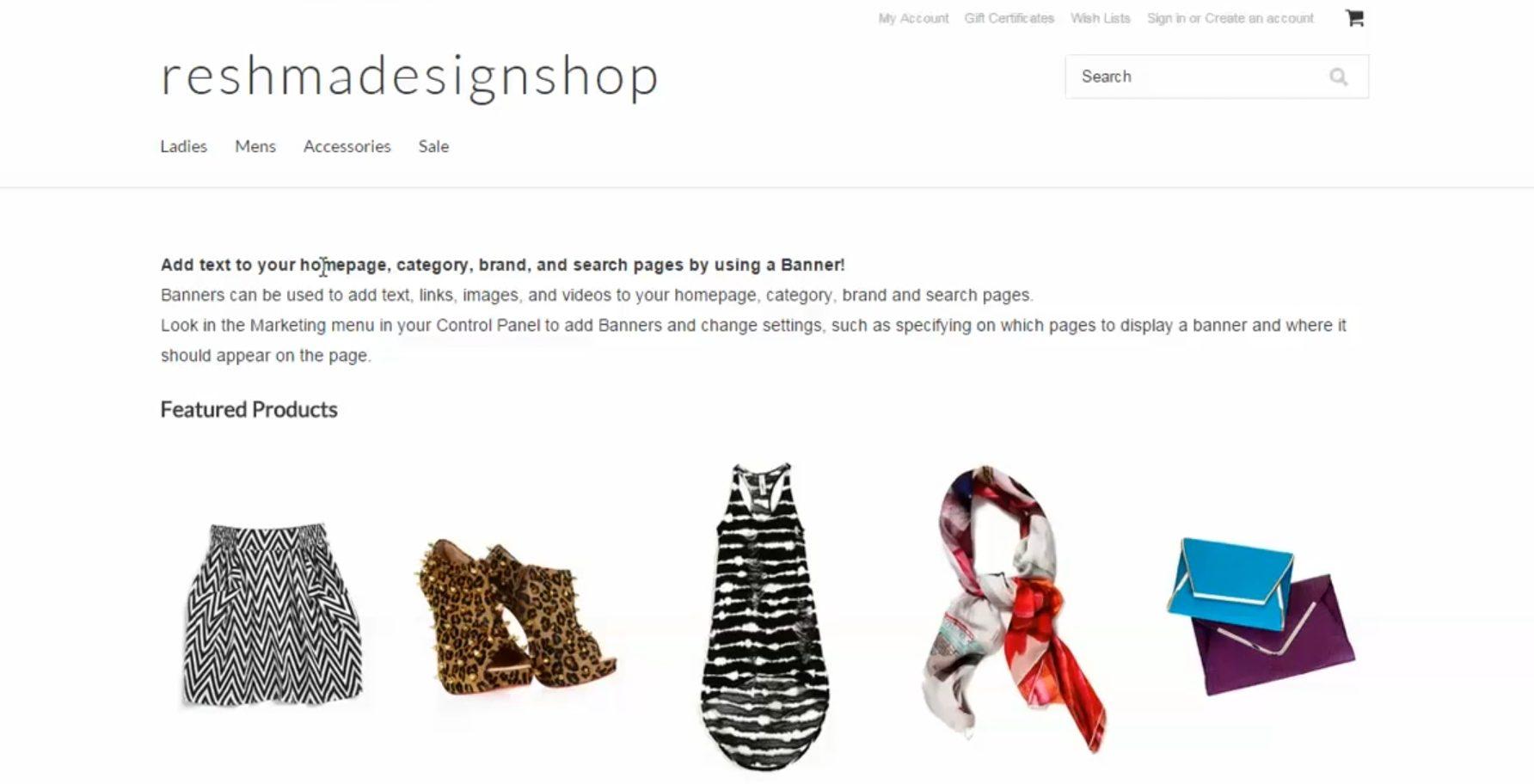 showcase your products using ecommerce apps like BigCommerce