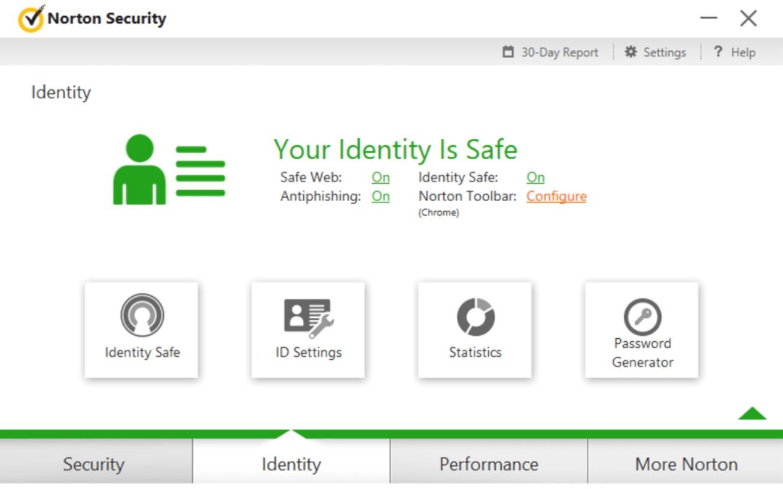 Norton Security Dashboard