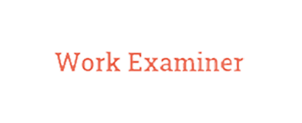 Work Examiner reviews