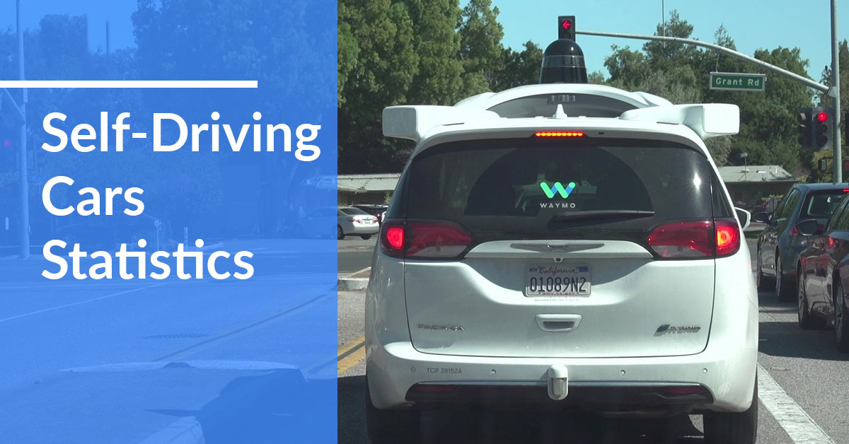 key self-driving cars statistics