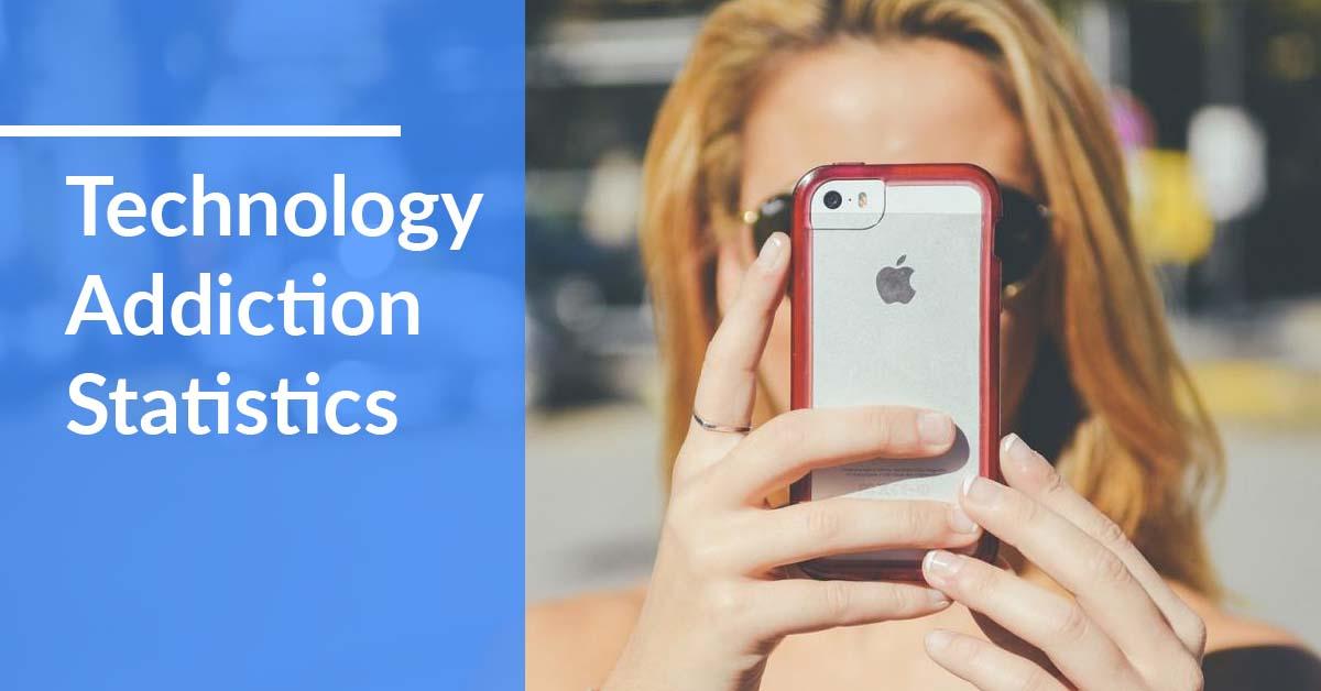technology addiction statistics