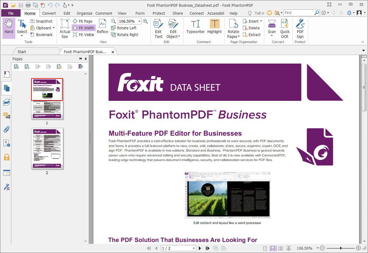 PDFelement Pro vs Foxit PhantomPDF Comparison 2020   CompareCamp.com